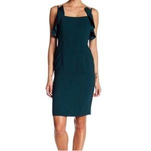 Nanette Lepore Evergreen Ruffle Dress